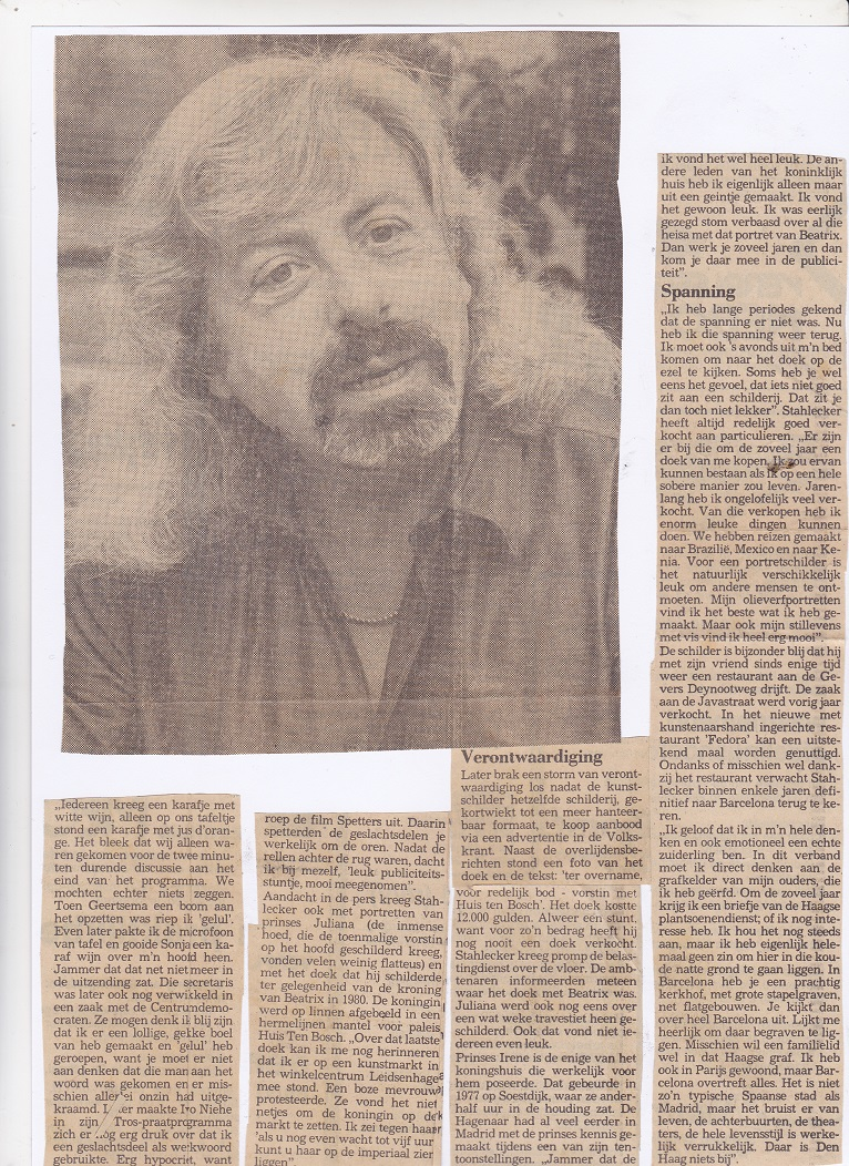 Interview van de week (2/2), 1986