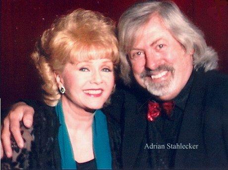 Adrian met Debbie Reynolds, Las Vegas 1995