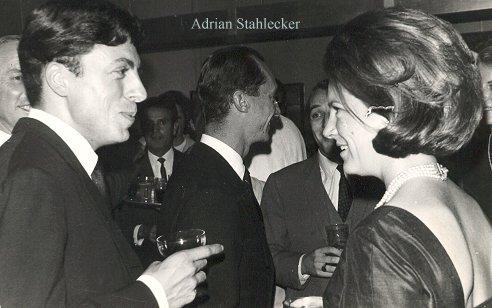 Adrian met Prinses Irene, 1963