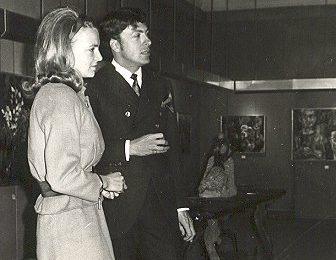 Adrian met Prinses Irene, 1967
