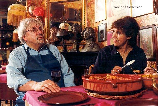 Adrian met Yvonne Keuls