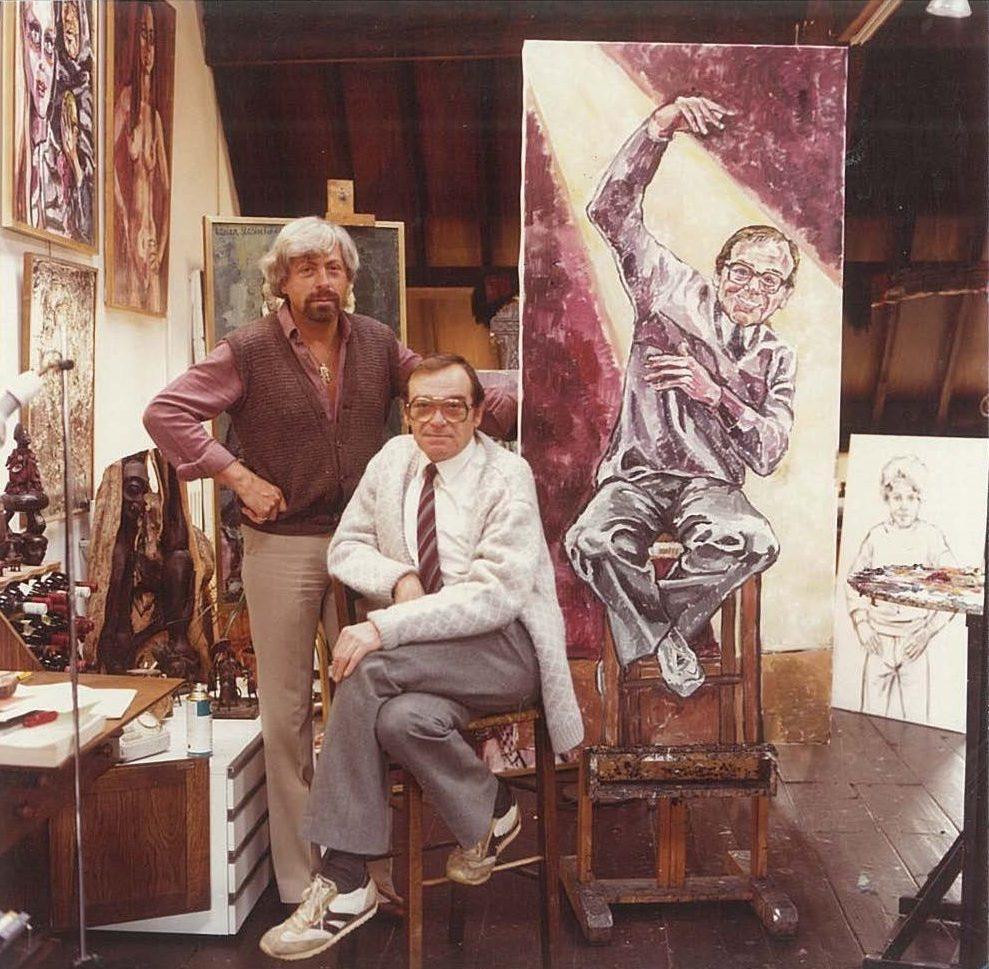 Adrian Jan Blaaser en Schilderij