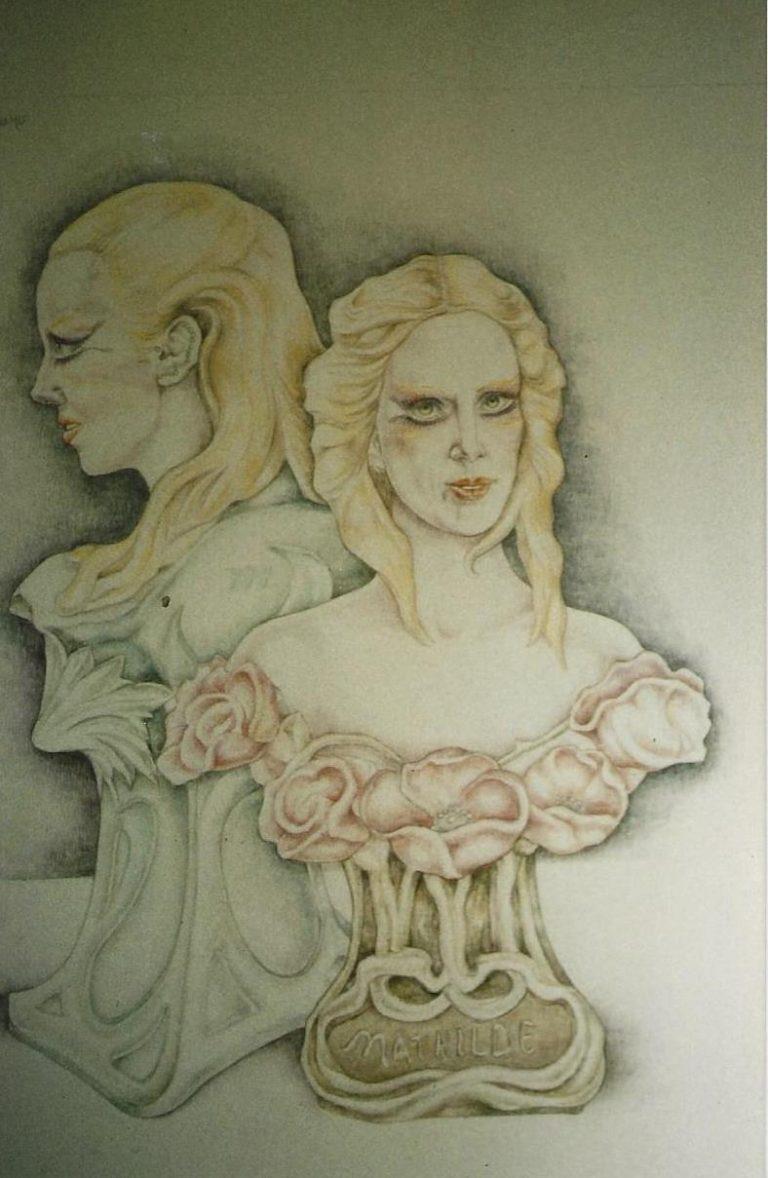 Borstbeeld Mathilde