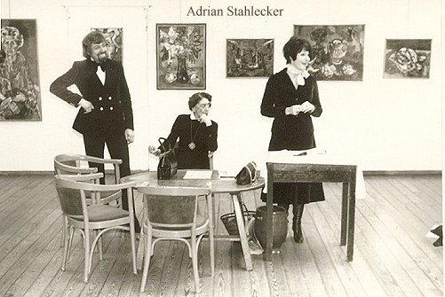 Opening by Mies Bouwman, Laren 1975