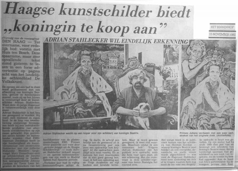 25.11.1982 Verkoop Beatrix