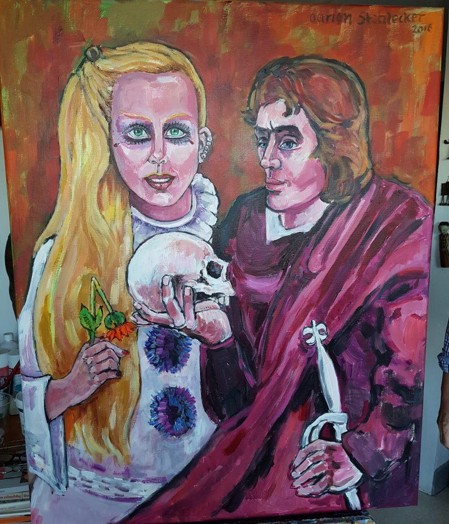 4. Portret Marlene en Kainth