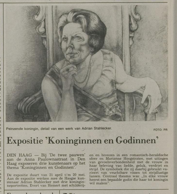"""Expositie """"Koninginnen en Godinnen"""""""