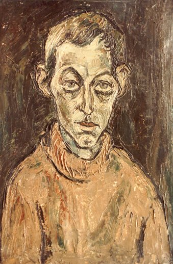 Actor Willem Wagter - oil 1961