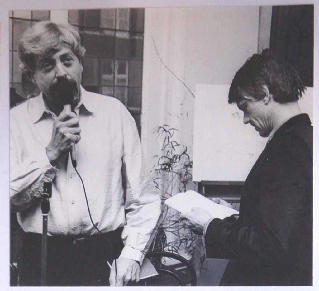 Adrian met Kees van Kooten