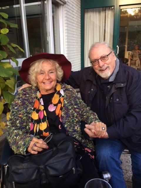 Adrian met Kitty Knappert