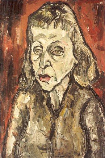 Cabaretiere Mari Alda - oil 1963