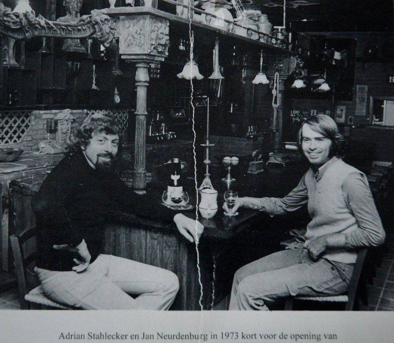 Foto Adrian en Jan in Nostalgia 1973
