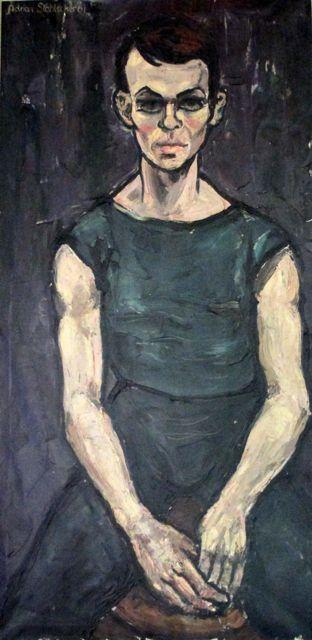 Jan Arntz 1961 Danser Nationaal Ballet - oil
