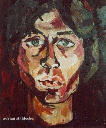 Jon Finch Portrait - Oil 1968