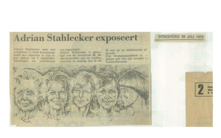 Koninklijk Portret HC 26.07.1979