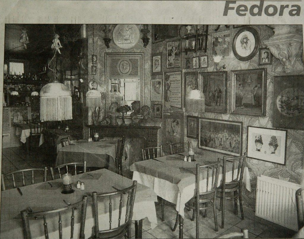 Krantenartikel Fedora