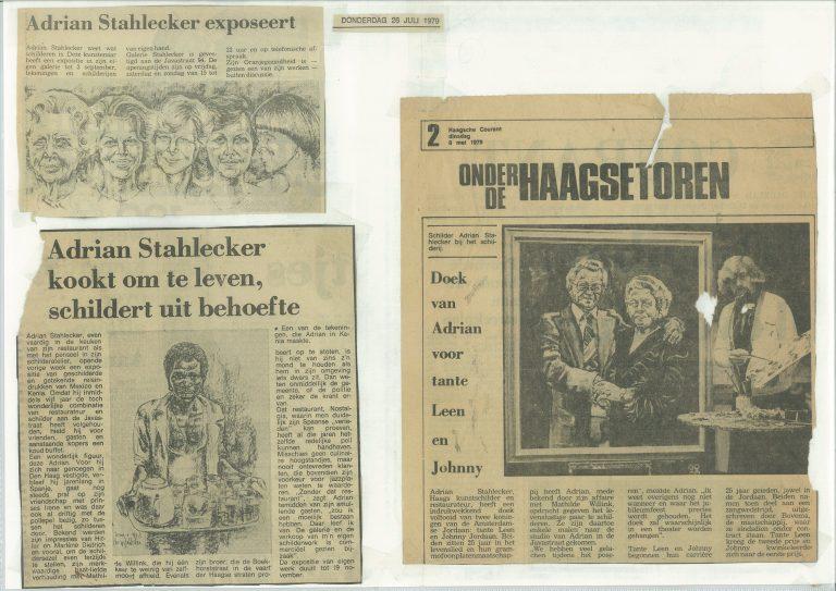 Diverse krantenartikelen, 1979