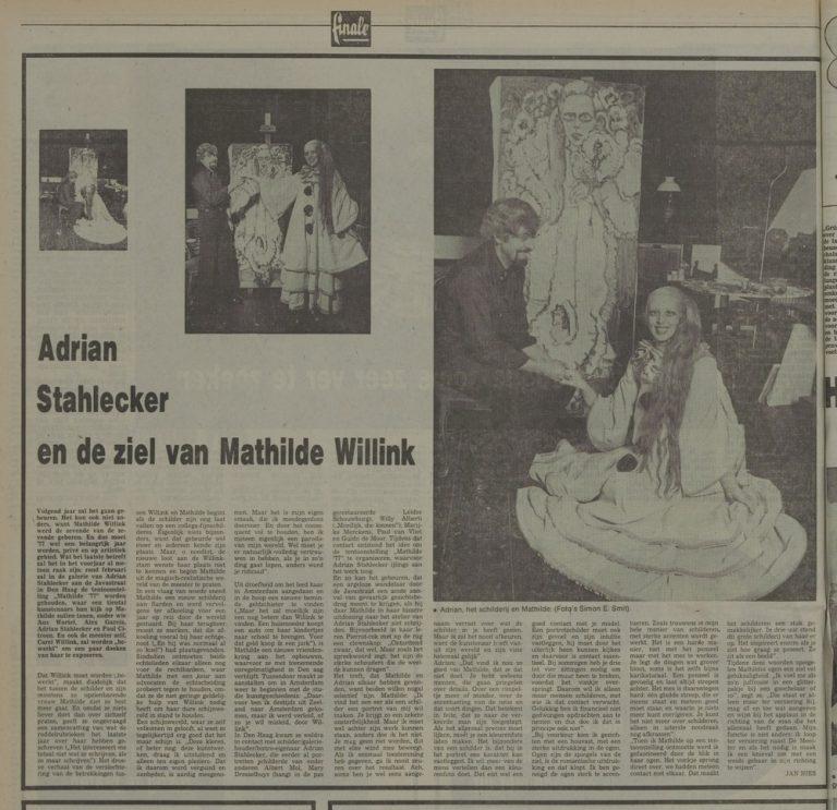 Leidse Courant Mathilde 6 nov. 1976