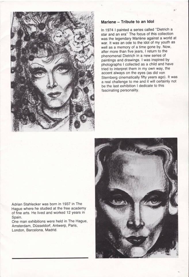 Marlene, tribute to an idol