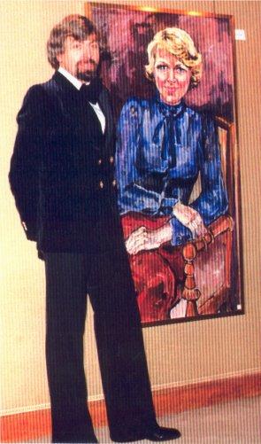 Prinses Irene Portrait - oil 1977