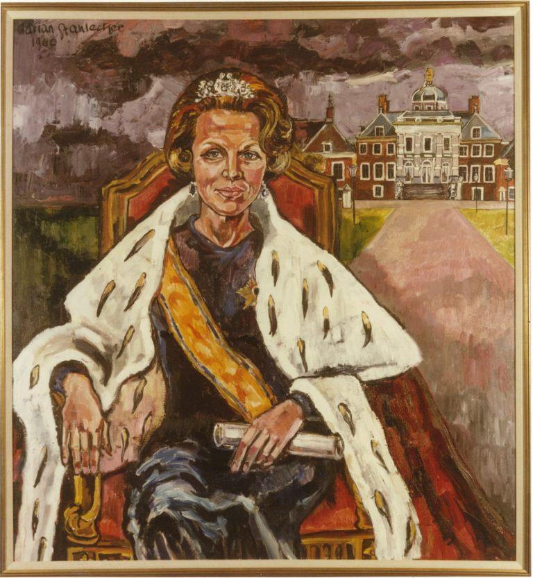 Schilderij Koning Beatrix
