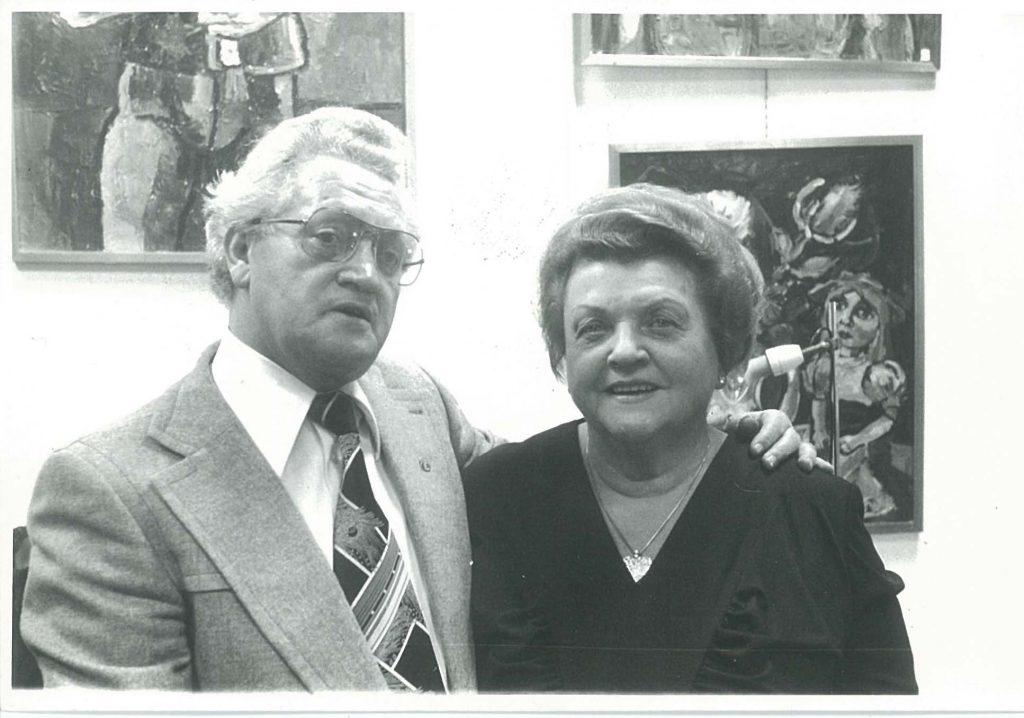 Tante Leen en Johnnie Jordaan