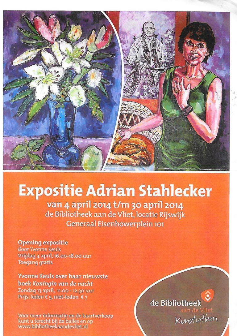 Uitnodiging Expositie Rijswijk, 2014