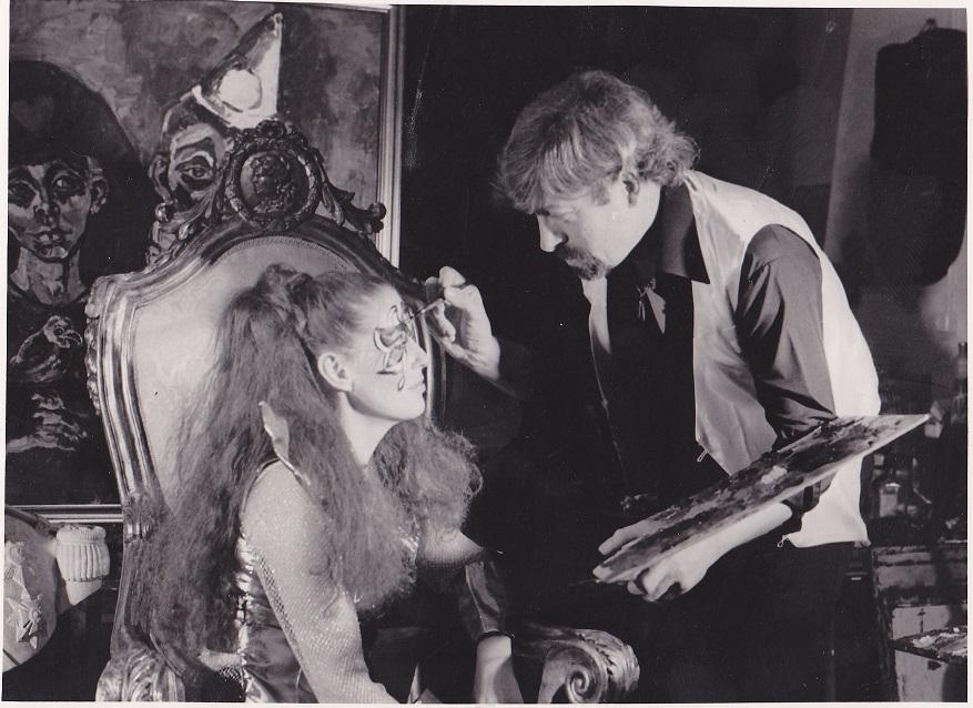 Adrian met Marian Schatteleyn