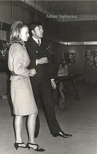 with Prinses Irene 1967