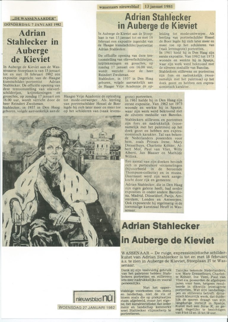 De Wassenaarder De Kievit 07.01.1982