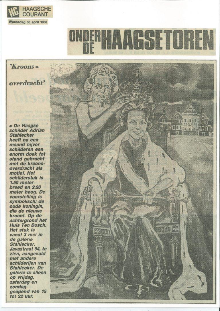 Haagsche Courant 30.04.1980