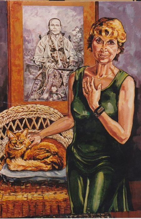 1. Schrijfster Yvonne Keuls